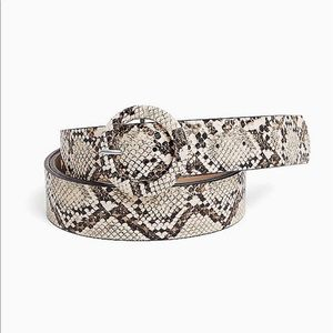 Nwt Torrid Faux Leather Snakeskin print Belt